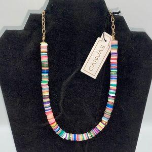CANVAS brand Multicolored Necklace